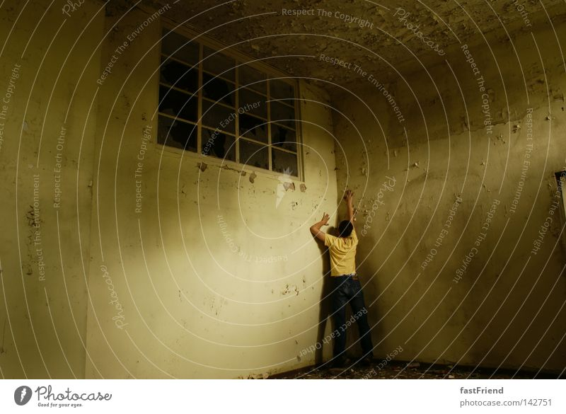 Old Hand Loneliness Window Wall (building) Wall (barrier) Fear Historic Hollow Escape Captured Panic Earth hole Bend Jail sentence Conquer