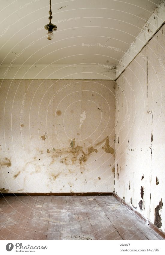 Old Loneliness Colour Death Wall (building) Lamp Room Going Dirty Background picture Arrangement Gloomy Ground Floor covering Transience End