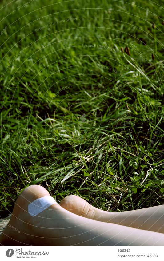 Woman Nature White Summer Calm Relaxation Meadow Grass Legs Feet Footwear Lie Break Pain Bubble