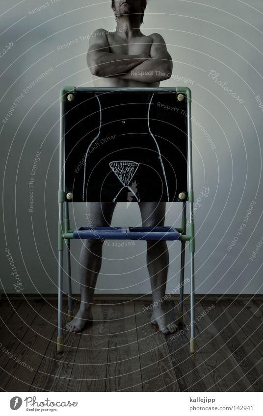 Woman Human being Man Feminine Naked Wood School Legs Arm Skin Room Flat (apartment) Stand Floor covering Blackboard
