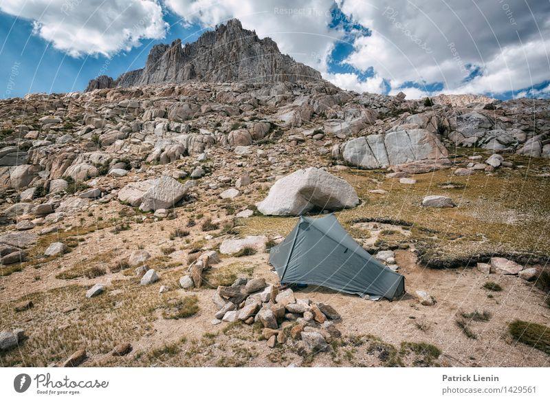 Sleep beneath Giants Harmonious Contentment Senses Relaxation Calm Vacation & Travel Tourism Trip Adventure Far-off places Freedom Summer Mountain Environment