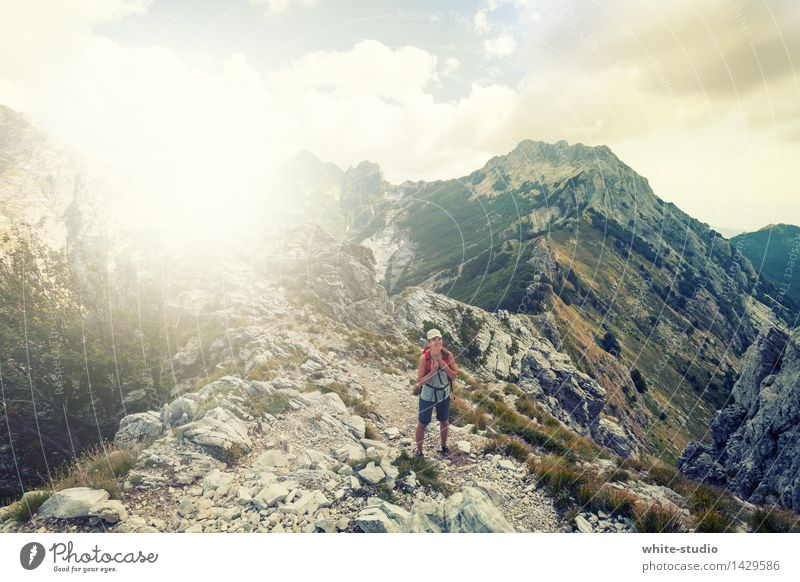So early and so high! Lifestyle Joy Healthy Athletic Fitness Leisure and hobbies Vacation & Travel Tourism Expedition Camping Summer Summer vacation Mountain