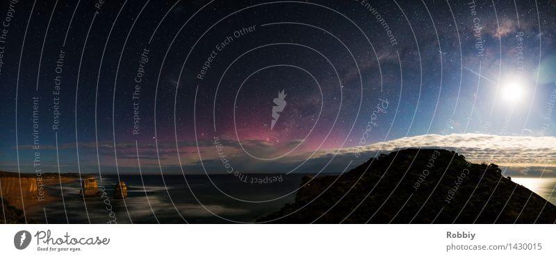 Sky Nature Vacation & Travel Ocean Landscape Life Coast Freedom Earth Horizon Waves Idyll Uniqueness Stars Eternity Infinity