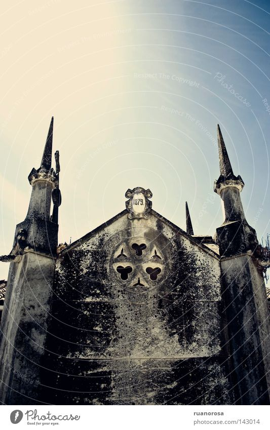 Old Death Architecture Grief Distress Ancient Cemetery Gothic period Grave House of worship Tomb Crypt