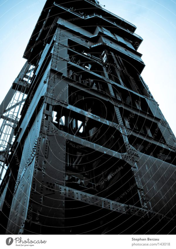 Work and employment Metal Industry Tower Industrial Photography Steel Rust Construction Mining Coal Mine Miner Raw materials and fuels