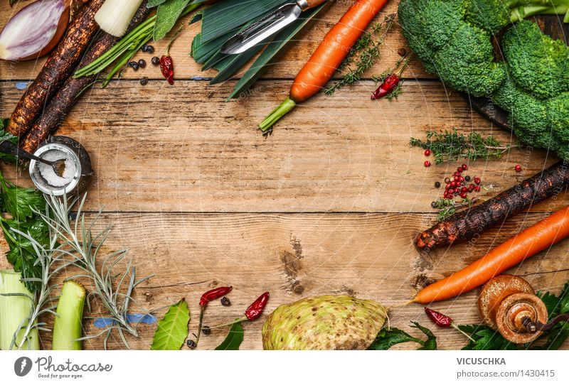 Healthy Eating Yellow Life Food photograph Style Design Nutrition Table Shopping Cooking & Baking Kitchen Vegetable Organic produce Vegetarian diet Dinner