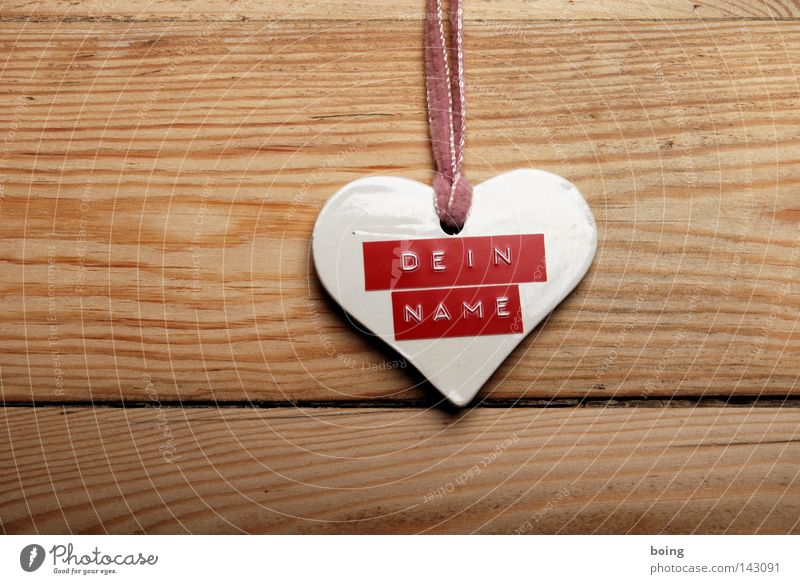 Your wood Heart Keyring Name plate Affection Discover Odds and ends Label Inscribe Unidentified Fantasy Love Joy Signage you first name embossing tape