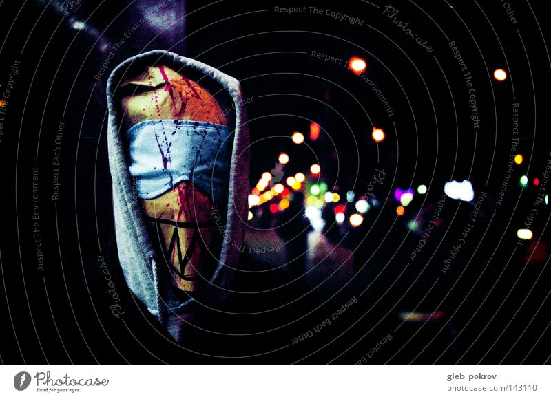 Joker inside us. Human being Man Colour Street Dark Head Dye Clothing Mask Film industry Trash Media Social Screw Hooded (clothing) Mask