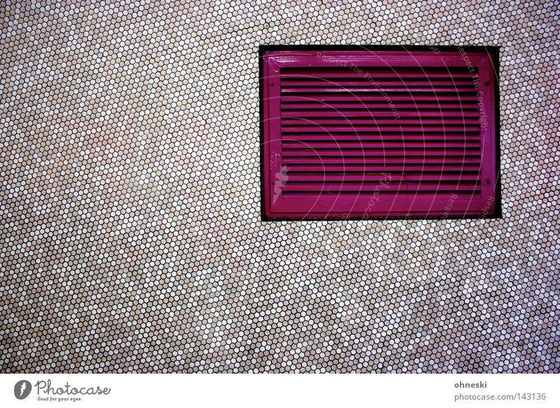 think pink Ventilation Ventilation shaft Pink Colour Mosaic Small Detail Underground Underpass Academic studies Corner