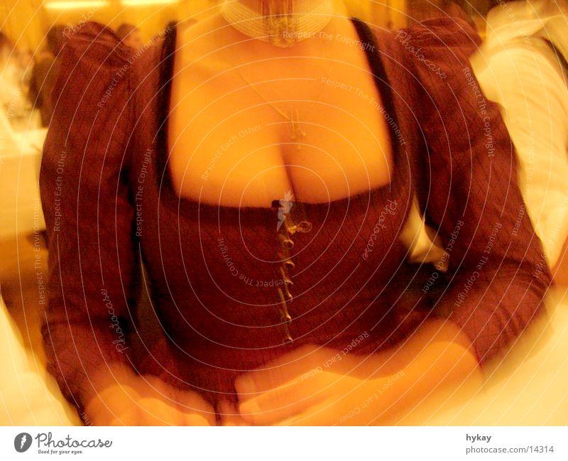 Woman Breasts Bavaria Chest Eye-catcher Low neckline Hi!