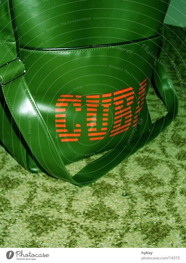 cuba libré Green Carpet Cuba Bag Pattern Leisure and hobbies Logistics