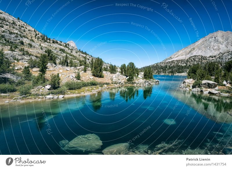 Rae Lakes Relaxation Calm Meditation Vacation & Travel Tourism Trip Adventure Mountain Hiking Environment Nature Landscape Sky Cloudless sky Summer Climate