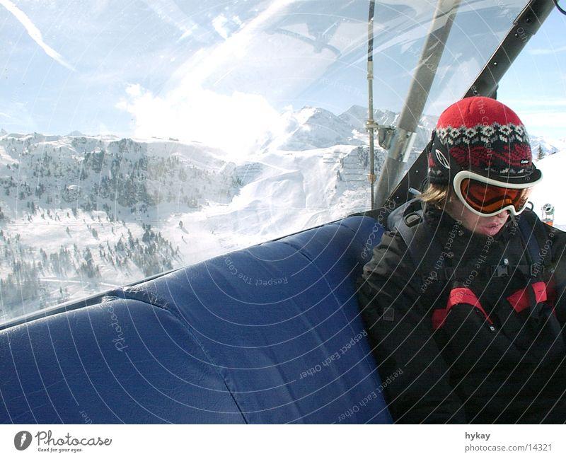 liftboy Winter Aviation Elevator Snow Human being