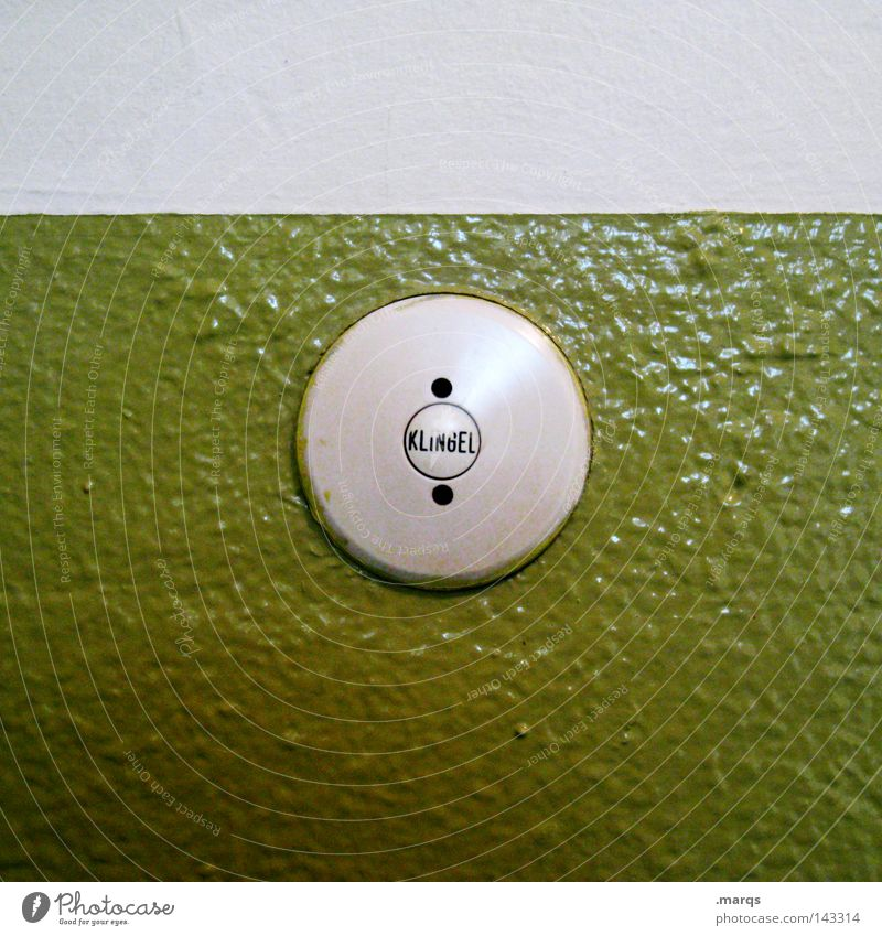 Green Life Flat (apartment) Crazy Circle Communicate Characters Living or residing Contact Come Buttons Bell Switch Pushing Visitor Bell