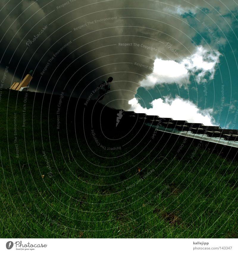 pods-blitz Potsdamer Platz Human being Hill Mountain Grass Sky Going Walking Running sports Hiking Tower High-rise Clouds Thunder and lightning Rain Weather