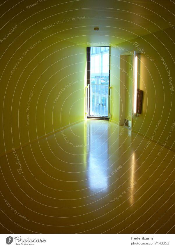Sun Yellow Happy Architecture Hollow Hallway Scandinavia Copenhagen