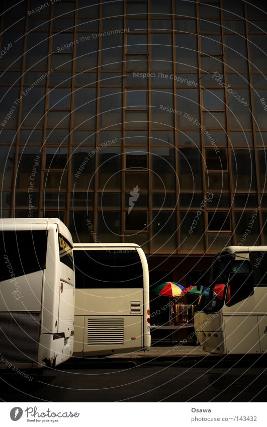 White Street Dark Window Architecture High-rise Facade Empty Modern Gloomy Italy Asphalt Sunshade Bus Trade