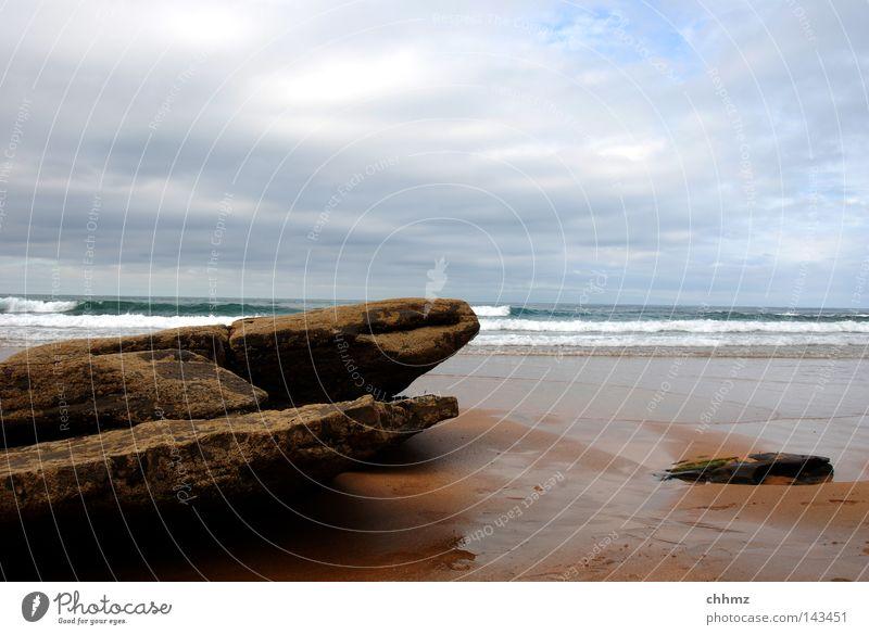 Ocean Beach Clouds Stone Coast Lake Weather Rock Wet Derelict Footprint Damp Surf Weathered Bad weather Tracks