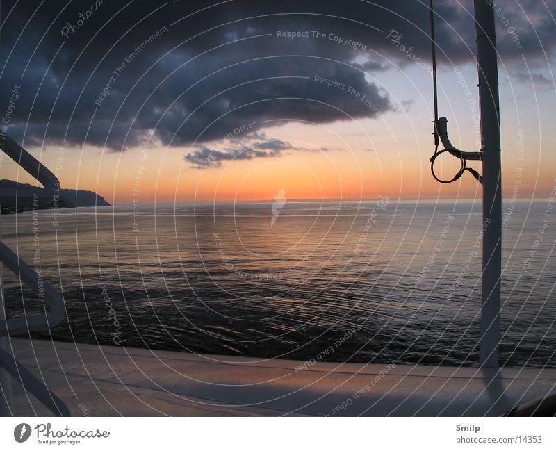 A new day Sunrise Ocean Watercraft Morning AIDA