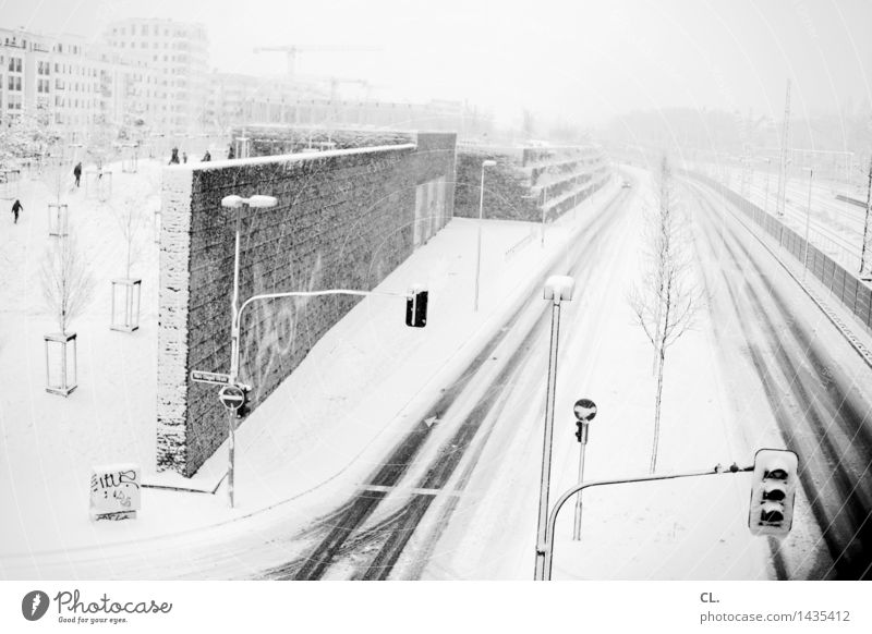 Human being City House (Residential Structure) Winter Cold Environment Wall (building) Street Life Lanes & trails Snow Wall (barrier) Group Weather Ice Transport