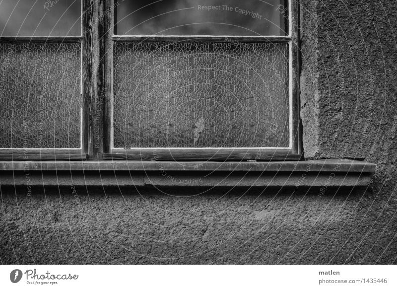 the old hat factory Town Deserted House (Residential Structure) Building Architecture Wall (barrier) Wall (building) Window Old Dark Black White Window board