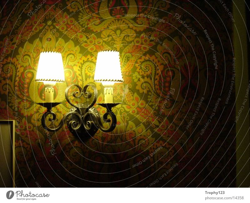 Old Green Lamp Wallpaper Photographic technology