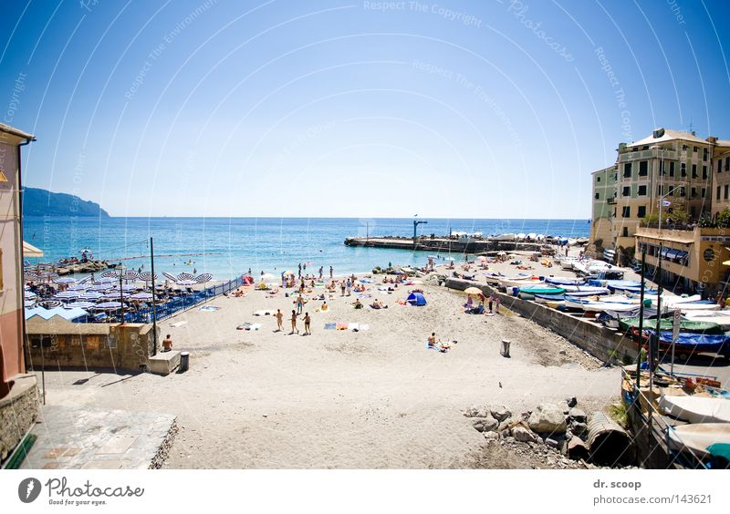the beach Beach Summer Italy Vacation & Travel Ocean Relaxation Calm Leisure and hobbies genova