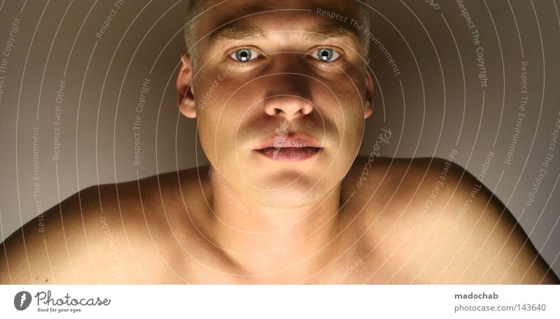 Human being Man Youth (Young adults) Adults Face Eyes Naked Head Mouth Skin Masculine Nose Ear Lips 18 - 30 years Shoulder