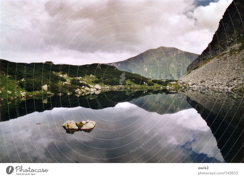 Sky Plant Water Landscape Clouds Cold Mountain Wall (building) Lake Stone Above Horizon Weather Air Large Tall