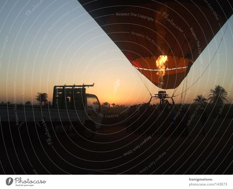 let the sun rise in your heart. Egypt Luxor Africa Impressive Hot Air Balloon Airplane Upward Fire Bright Physics Sunrise Ascending Beautiful Light Free Poverty