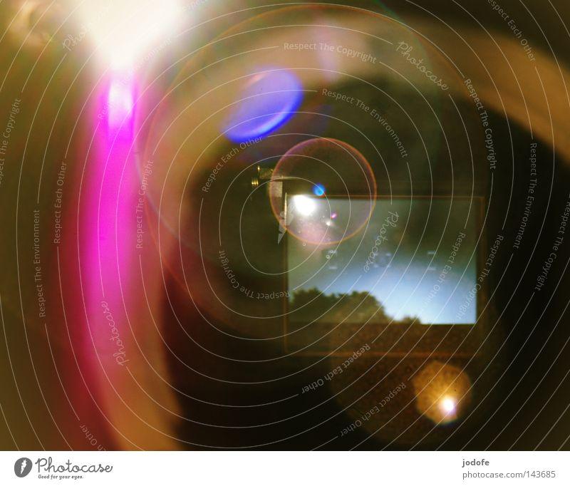 Sky Tree Sun Colour Lamp Lighting Stars Pink Circle Star (Symbol) Technology Round Camera Mirror Universe Wheel