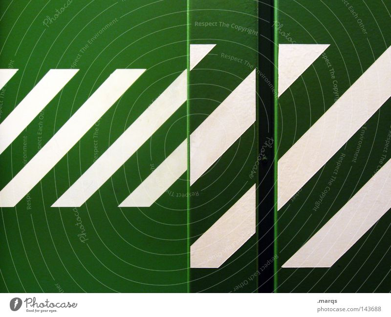 White Green Colour Line Metal Stripe Illustration Geometry Elevator Classification Striped Across