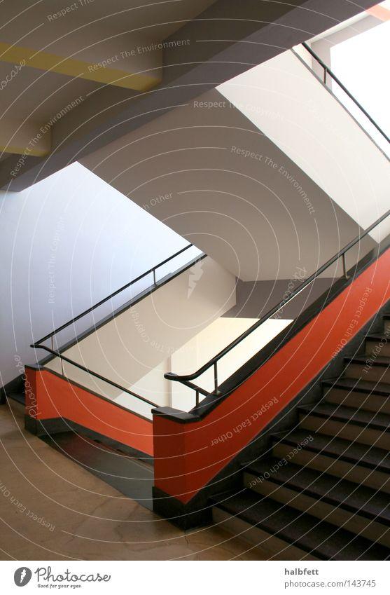 Architecture Stairs Modern Staircase (Hallway) Classic Saxony-Anhalt Bauhaus Dessau