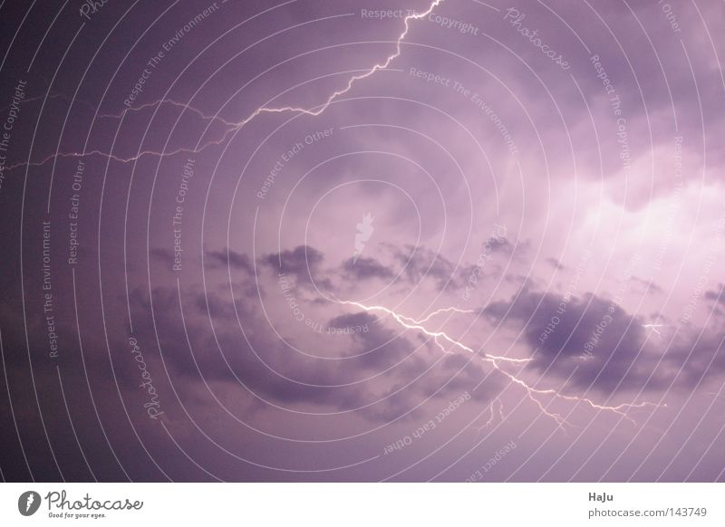 flashes Storm Lightning Clouds Thunder and lightning Sky Weather Part Fear