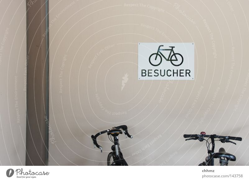 Playing Think 2 Bicycle Signs and labeling Arrangement Transport Signage Safety Break Ecological Parking Safety (feeling of) Forget Visitor Tread