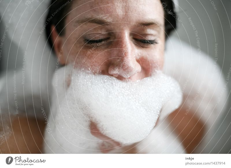 Christmas Bard Lifestyle Joy Beautiful Personal hygiene Body Foam bath Bubble bath Foam mountain Swimming & Bathing Leisure and hobbies Christmas & Advent Woman