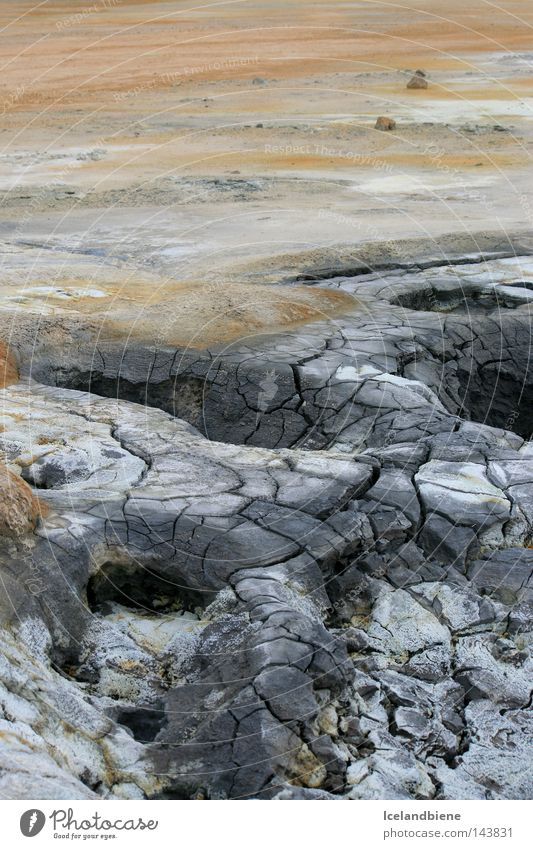 Nature Water Mountain Gray Energy Earth Force Smoke Iceland Odor Gas Crack & Rip & Tear Mud National Park Bubble Hissing
