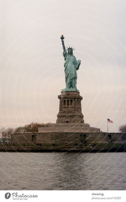 Statue of Liberty New York City Town Quarter North America USA had