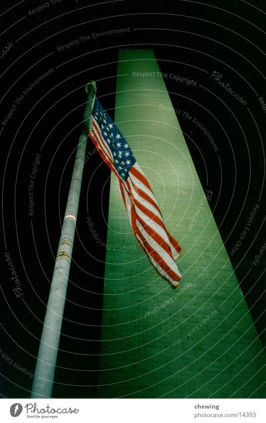 obelisk President Lighting North America Washington DC USA Past Evening Obelisk