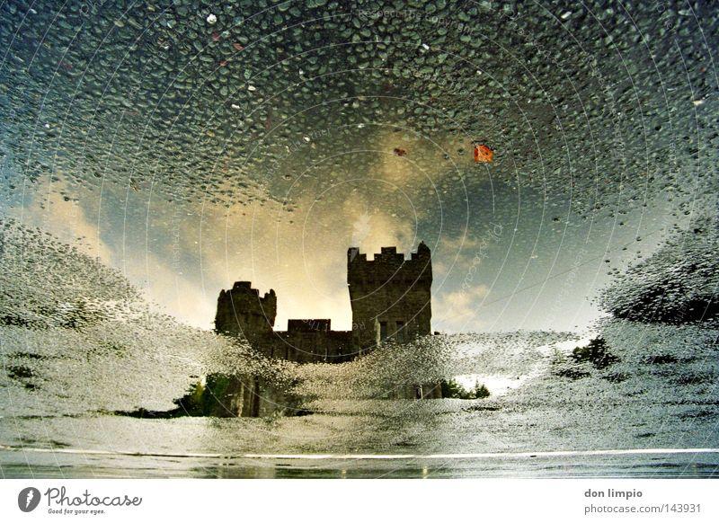 Water Sky Clouds Street Stone Analog Historic Ireland