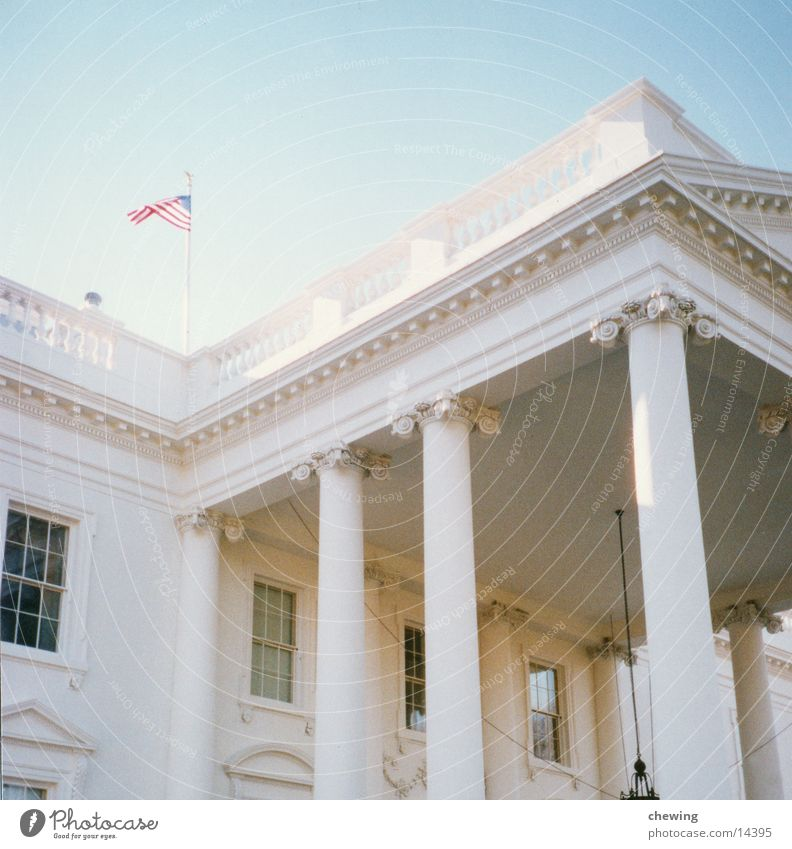 Building Lighting USA Past South America Washington DC President The White House
