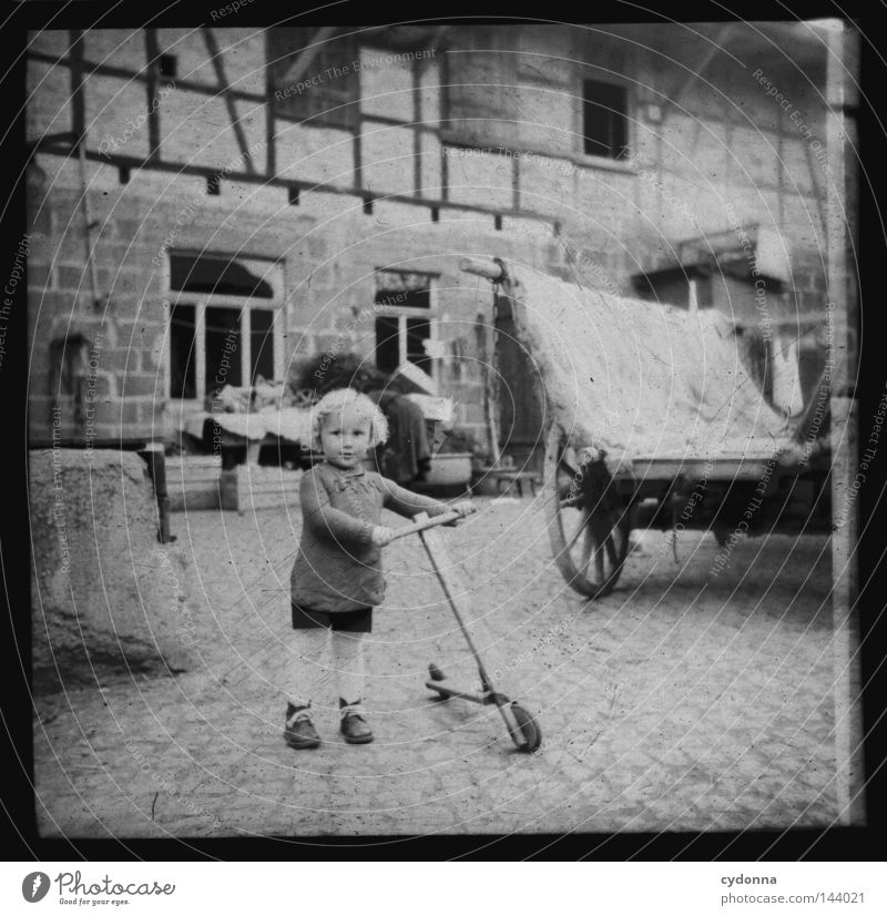 Child Old Joy Life Emotions Time Photography Toddler Farm Historic Past Hide Year Collection Memory