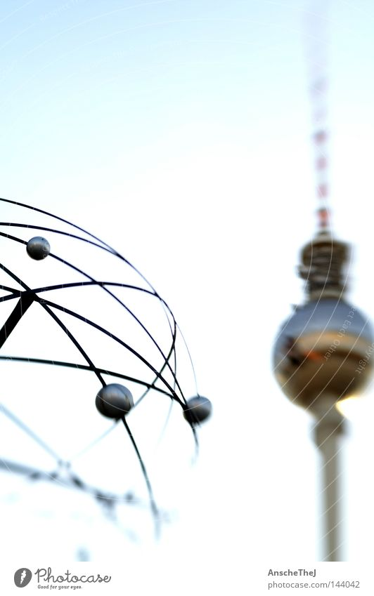 City Life Berlin Freedom Dream Germany Illuminate Authentic Communicate Monument Landmark Berlin TV Tower Television tower Famousness Experience Alexanderplatz