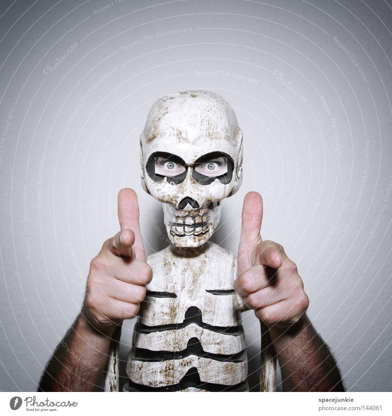 Hand Joy Eyes Death Head Creepy Whimsical Ribs Cemetery Skeleton Grave Death's head Robbery Criminality Disastrous Thorax