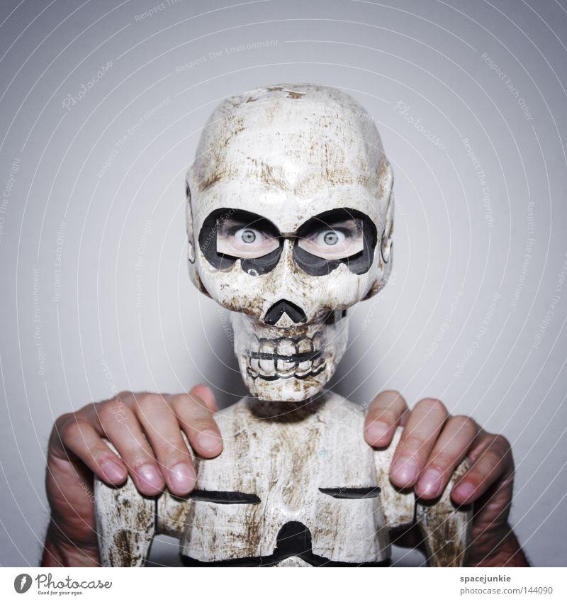 Hand Joy Eyes Death Head Dance Creepy Whimsical Ribs Cemetery Skeleton Grave Death's head Disastrous Thorax