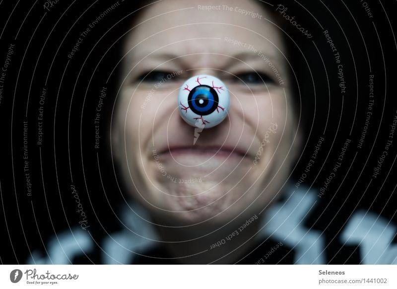 Human being Face Eyes Feminine Mouth Observe Nose Lips Surveillance Spy Informer