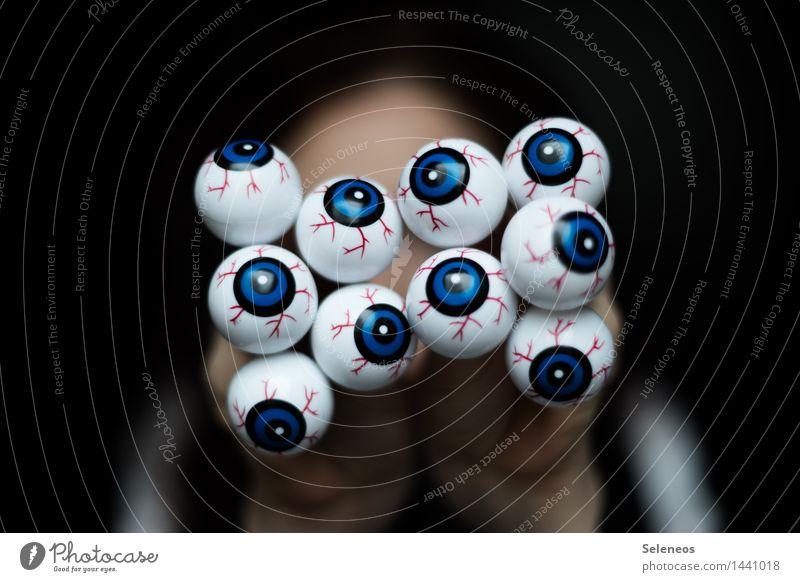 Human being Eyes Observe Carnival Creepy Hallowe'en Surveillance Informer Opthalmology Eye colour Eyewitness