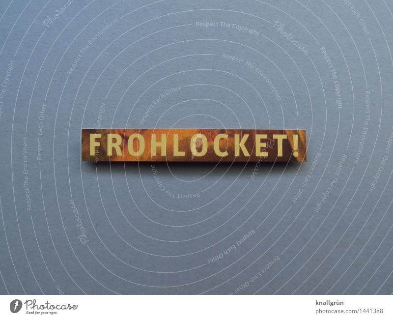 FROHLOCKET! Characters Signs and labeling Communicate Sharp-edged Brown Gold Gray Emotions Moody Joy Joie de vivre (Vitality) Anticipation Curiosity Belief