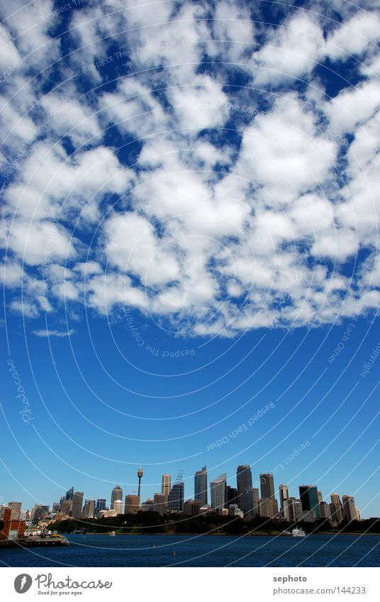 Sky Blue City White Clouds Graffiti Earth Weather Wind Climate Stairs High-rise Aviation Perspective Electricity