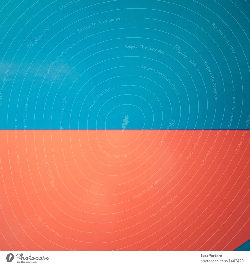 Blue Colour Red Style Background picture Art Line Bright Metal Design Esthetic Simple Culture Illustration Graphic Hide